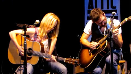 Brigitte De Meyer & Will Kimbrough perform You Win Again at Eddie's Attic