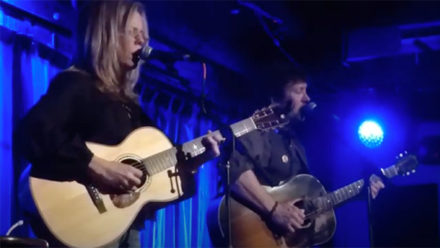 Brigitte De Meyer & Will Kimbrough perform Everything at SPACE in Evanston, IN
