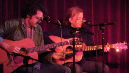 Brigitte DeMeyer performing Savannah Road live at The Green Note